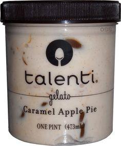 On Second Scoop: Ice Cream Reviews: Talenti Caramel Apple Pie Gelato #29