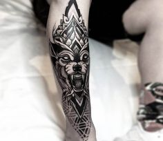 What does shin tattoo mean? We have shin tattoo ideas, designs, symbolism and we explain the meaning behind the tattoo. Tattoo Bicep, Shin Tattoo, Forearm Tattoos, Body Art Tattoos, Hand Tattoos, Sleeve Tattoos, Ankle Tattoos, Chest Tattoo, Wolf Tattoo Design