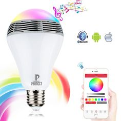 28.88$  Watch more here - http://aifsr.worlditems.win/all/product.php?id=32803403416 - 5W E27 led bulb AC220V bluetooth led lamp wireless music bulb speaker disco noverty led lighting music player bulbs