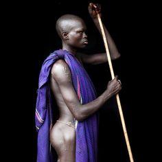 Africa | Ganjo ~ young Surma man. West Omo Valley, Ethiopia | ©Mario Gerth
