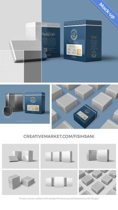 Meet a sleek yet beautiful 3D mockup set, Rectangular Metal Tin Can Mockup for Adobe Photoshop. #biscuits #branding #can #canister #coffee #container #custom #design #high resolution #industrial #jar #kitchen #layered #metal can #mockup #original #packaging #photoshop #product design #psd #psd mockup #psd template #realistic #rectangular #retail #roasters #roastery #smart object #spices #sugar #sweets #tea #template #tin can #showcase #wrapping #mock up #package #rectangular can #tin #storage Mouse Crafts, Web Themes, Cool Items, Mockup, Tin, Coffee Container, Canning, The Originals, Adobe Photoshop