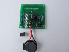 EMF Detector 999 Hz for ATtiny 85 : 4 Steps (with Pictures) - Instructables Physics Projects, Iot Projects, Robotics Projects, Stem Projects, Arduino Projects, Diy Electronics, Electronics Projects, Spy Video Camera, Hobbies To Pick Up