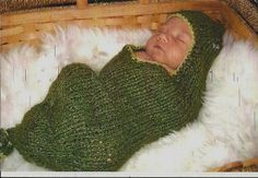Pea Pod for Newborn Infant Cocoon by mkervin on Etsy, $38.00