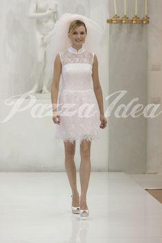 Abito da sposa corto di Elisabetta Polignano 2014. #weddingdress #bride #elisabettapolignano #wedding
