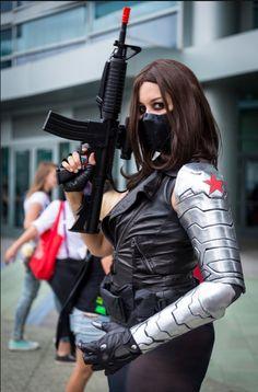 Femme Winter Soldier, Cosplayer: Tenacious Bee