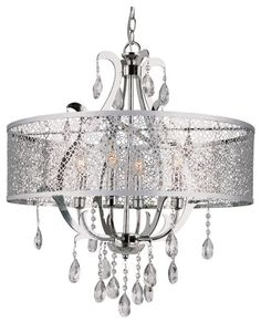 Transglobe Pc Chandelier Polished Chrome In