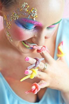 Lollie rings, candy shoot