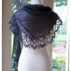 Jo's Shawlette Crochet pattern by Julie Blagojevich | Crochet Patterns | LoveCrochet