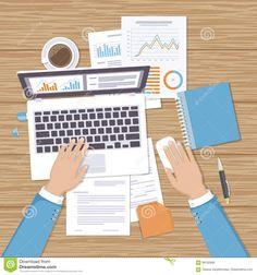Work Desk, Economics, Computer Mouse, Workplace, Character Design, Illustration, Backgrounds, Preppy Desk, Pc Mouse