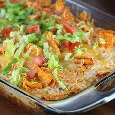Recipes, Dinner Ideas, Healthy Recipes & Food Guide: Dorito Chicken Casserole