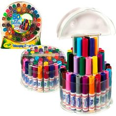 Crayola Pip-Squeaks Washable Markers Telescoping Tower, 50-count - Walmart.com