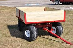 Lawn and Garden accessories, wheels, hitch pins, couplers and more by Country Lawn-Garden Lawn Trailer, Trailer Dolly, Utility Trailer, Atv Trailers, Dump Trailers, Backyard Projects, Outdoor Projects, Garden Tractor Attachments, Homemade Trailer
