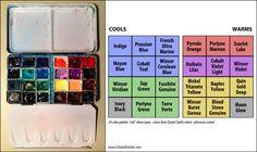 "5x8 24 Color ""Full Spectrum"" Paint Box"
