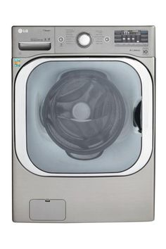 Use LG Electronics Graphite High-Efficiency Front Load Washer with Steam to virtually eliminate dirt, wrinkles and odors from your clothes. Laundry Room Storage, Wall Storage, Washing Machine Reviews, Washing Machines, Stackable Washer And Dryer, Gas Dryer, Lg Electronics, Front Load Washer, Steam Cleaning