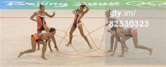 2008 summer olympics - beijing, CHN: Olympics Day 16 - Rhythmic Gymnastics/ RG group-Israel