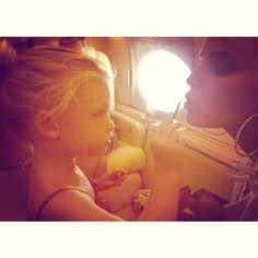 Jessica Simpson and daughter Maxwell