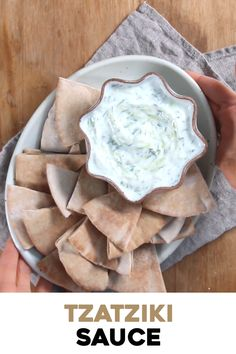 Learn how to make tzatziki sauce - This authentic Mediterranean cucumber and yogurt sauce recipe can be made in 10 minutes and is perfect for meats, appetizers, meze plates, and more. Cooking is an expression that crosses boundaries. Meat Appetizers, Appetizer Recipes, Dinner Recipes, Tasty Videos, Food Videos, Recipe Videos, Sauce Tzatziki, Authentic Tzatziki Sauce Recipe, Tzatziki Sauce Recipe Greek Yogurt