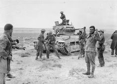 ALLIES CAPTURE A GERMAN  MATILDA TANK