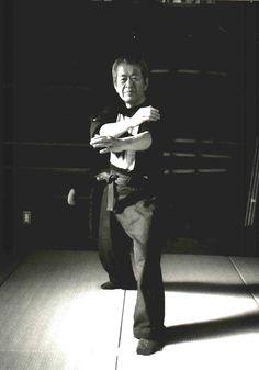 Hatsumi Sensei in Ichimonji No Kamae. -UG-