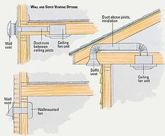 home repairs,home maintenance,home remodeling,home renovation Casa Bunker, Bathroom Exhaust Fan, Kitchen Exhaust Fan, Kitchen Vent, Diy Kitchen, Bathroom Plumbing, Bathroom Mirrors, Bathroom Ideas, Bathroom Storage