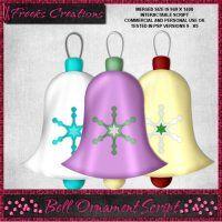 Bell Ornament Script [Freeks Creations] - $0.88 : LowBudgetScrapping