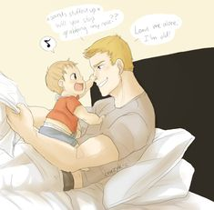 Steve and baby peter
