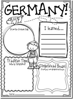 First grade- Holidays around the world