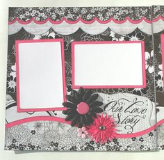 Scrapbook Layout Cute!! Must have!