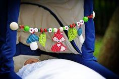 Kinderwagenkette ♥ Kinderwagenanhänger ♥ Mobile (Kombi-Anleitung 3-in-1) - Schnittmuster und Nähanleitungen bei Makerist