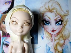 ever after high apple into elsa