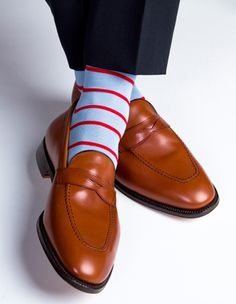 """That moment when you walk into the board room and the chairman says """"Holy cow, that man has some socks!""""   Yep, it's happened!"""