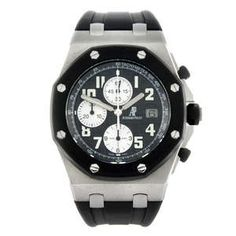 For the SIHH 2014 exhibition, six new iterations of the Audemars Piguet Royal Oak Offshore Chronograph are being launched. Audemars Piguet Diver, Audemars Piguet Watches, Audemars Piguet Royal Oak, Sport Watches, Watches For Men, Men's Watches, Royal Oak Offshore Chronograph, Safari, Trainer Boots