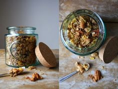 Ophelie's kitchen book: Brunch #1 : Le granola maison