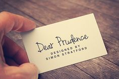 Check out Dear Prudence by It's me simon on Creative Market
