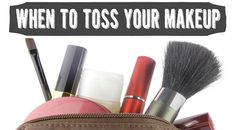 Do you know when to throw out your makeup? Check out this handy resource :-)