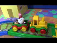Peppa Pig, la ferrovia e gli amici