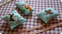 Вышитая игольница  needle bar embroidery needle bed Pincushion