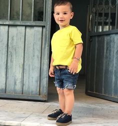 New Fashion Kids Boy Outfits 24 Ideas Baby Outfits, Outfits Niños, Little Boy Outfits, Toddler Boy Outfits, Kids Outfits, Fashion Outfits, Baby Boy Dress, Baby Boy Swag, Toddler Boy Fashion