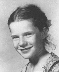 young Janis Joplin, with a touch of Pippi Longstocking about her :)