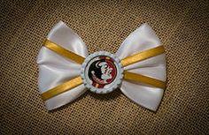 FSU Seminoles Hairbow