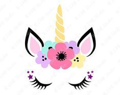 Unicornio SVG, unicornio cabeza SVG, unicornio Clip Art, un Unicorn Party Invites, Unicorn Birthday Parties, Party Invitations, Unicorn Head, Cute Unicorn, Diy And Crafts, Crafts For Kids, Paper Crafts, Unicorn Pictures