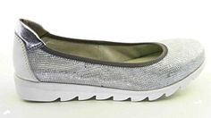 The Flexx, On the Track, Damen-Ballerina, b109-04, weiß/silber, - http://on-line-kaufen.de/the-flexx/the-flexx-on-the-track-damen-ballerina-b109-04
