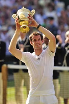 At last after 77 years we have a male British Wimbledon champion.