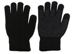 Touchscreen Gloves   Conveniently works with any touchscreen phone or electronic device. Silicone texture for easy No more cold fingers 3 Touch Screen Fingertips / No need to take off gloves   The forefinger, middle finger and thumb of each glove are knitted with a special reactive thread that allows you to easily work your Smartphone, iPad or GPS touchscreen without having to take your gloves off...