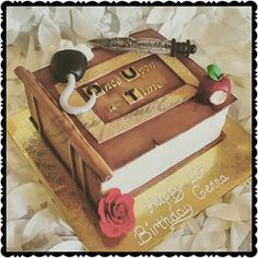 once upon a time snow white themed cake - Google Search