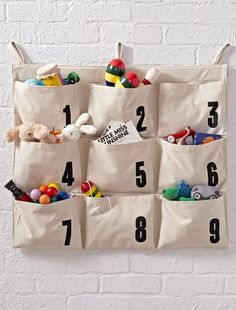 There's no secret key for keeping your home organized, but our keypad hanging storage organizer will definitely help. With nine roomy pockets featuring the numbers 1 through 9, its cotton canvas construction makes it the first and last hanging organizer you'll ever need.