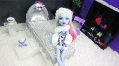 Episodio 701-Cómo hacer una cama inspirada por la muñeca Monster High Abbey