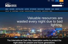 IDA is a non-profit organization that works to help stop light pollution and protect the night skies for present and future generations.