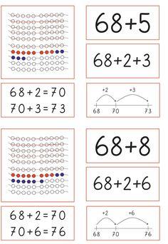 2nd Grade Math, First Grade, Second Grade, Math Art, Montessori, Back To School, Kindergarten, Teacher, Education