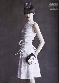 Vogue Korea Editorial May 2011 - Hyun Yi Lee, Han Hye and HyeJung Lee by Paolo Roversi